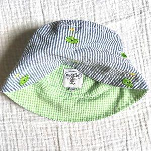 f5d0d0dc Mud Pie Accessories | Seersucker Bucket Hat | Poshmark